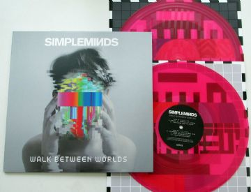 Simple Minds - Walk Between Worlds (2018  Fuchsia / Etched 2 LP set)